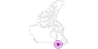 Accommodation Hôtel du Voyageur in Québec City: Position on map