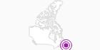 Unterkunft Kilmory Resort in der Zentralregion von Neufundland: Position auf der Karte