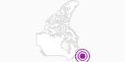 Unterkunft Terra Nova Resort & Golf Community in der Zentralregion von Neufundland: Position auf der Karte