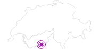 Unterkunft Tannenhof Garni in Zermatt: Position auf der Karte