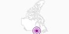 Accommodation Thunder Bay Inn in Southwest Ontario: Position on map