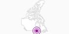 Unterkunft Absolute Serenity in Südwest-Ontario: Position auf der Karte