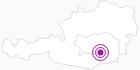 Accommodation Ferienwohnungen Bauer in South & West Styria: Position on map