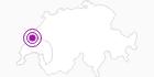 Unterkunft Hôtel du Chasseron in Genferseegebiet: Position auf der Karte