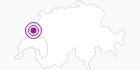 Unterkunft Hôtel - Restaurant Crêt de l´Anneau in Genferseegebiet: Position auf der Karte