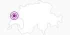 Unterkunft Hôtel-Restaurant Les Cernets in Genferseegebiet: Position auf der Karte