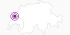 Accommodation Les Hirondelles Lake Leman: Position on map