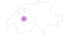 Unterkunft Resort Hotel Schwefelbergbad im Naturpark Gantrisch: Position auf der Karte