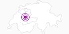 Unterkunft B&B Christine Stettler im Naturpark Gantrisch: Position auf der Karte