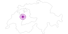 Unterkunft B&B Marlise Nydegger im Naturpark Gantrisch: Position auf der Karte