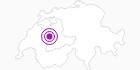 Unterkunft Süftenenhütte im Naturpark Gantrisch: Position auf der Karte