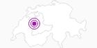 Unterkunft Ferienwohnung Schwarzenburg Unterwahlern im Naturpark Gantrisch: Position auf der Karte