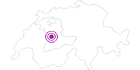 Unterkunft Erlebnis Hofmatt im Naturpark Gantrisch: Position auf der Karte