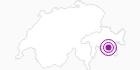 Accommodation Nira Alpina in Engadin St. Moritz: Position on map