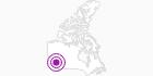 Unterkunft Aspen Inn & Suites in Nord-British Columbia: Position auf der Karte