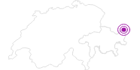 Unterkunft Chasa Mezpra/Pfister-Jenal in Scuol Samnaun Val Müstair: Position auf der Karte