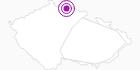 Accommodation Albrechta Jiserske Hory: Position on map