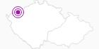 Unterkunft Hotel Nástup Erzgebirge Krusne hory: Position auf der Karte