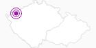 Unterkunft Hotel Berghof Erzgebirge Krusne hory: Position auf der Karte