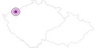 Unterkunft Pension Avionika Erzgebirge Krusne hory: Position auf der Karte