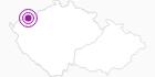 Unterkunft Hotel Restaurant Harlekin Erzgebirge Krusne hory: Position auf der Karte
