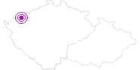 Accommodation Pohoda Penzion Krusne Hory: Position on map