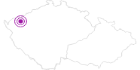 Unterkunft Hotel Krusnohor Erzgebirge Krusne hory: Position auf der Karte
