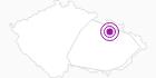 Unterkunft Hotel Praděd Altvatergebirge: Position auf der Karte
