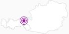 Accommodation Haus Wohlfahrtstätter Anna Tourist region Hohe Salve: Position on map