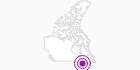 Unterkunft Mont Blanc Hotel and Studio in Québec City: Position auf der Karte
