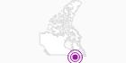 Unterkunft Hôtel la Sapinière in Québec City: Position auf der Karte