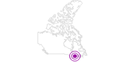 Unterkunft Auberge and Spa Beaux Rêves in Québec City: Position auf der Karte