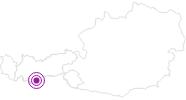 Webcam Gaisberg, Obergurgl Ötztal: Position auf der Karte