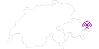 Unterkunft Badehotel Belvair in Scuol Samnaun Val Müstair: Position auf der Karte