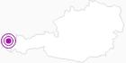 Accommodation Frühstückspension in the Bregenz Forest: Position on map