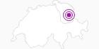 Unterkunft HOTEL BELLEVUE in Toggenburg: Position auf der Karte