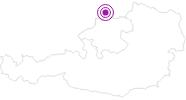 Unterkunft Ferienhaus Müller im Böhmerwald: Position auf der Karte