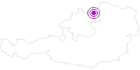 Unterkunft Viehberghütte im Mühlviertel: Position auf der Karte
