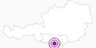 Unterkunft Baumgartnerhof in Villach-Warmbad / Faaker See / Ossiacher See: Position auf der Karte