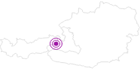 Unterkunft Pension Falkenstein in Saalbach-Hinterglemm: Position auf der Karte