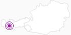 Unterkunft Apart Florida, Komfort-Ferienwohnung in Paznaun - Ischgl: Position auf der Karte