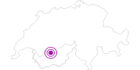 Unterkunft Hôtel Helvetia Intergolf in Crans - Montana: Position auf der Karte