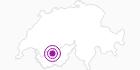 Unterkunft Hôtel Central in Crans - Montana: Position auf der Karte