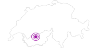 Unterkunft Petit-Paradis in Crans - Montana: Position auf der Karte
