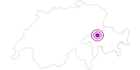 Unterkunft Hotel Larisch in Flims Laax Falera: Position auf der Karte