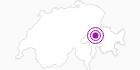 Unterkunft Hotel Rustico in Flims Laax Falera: Position auf der Karte