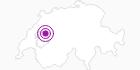 Unterkunft Hotel des Alpes in Fribourg: Position auf der Karte