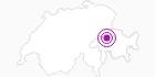 Unterkunft Ferienlager Alte Säge in Flims Laax Falera: Position auf der Karte