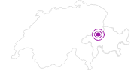 Unterkunft Berghaus Nagens in Flims Laax Falera: Position auf der Karte