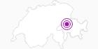 Unterkunft Val Signina Touristik AG in Flims Laax Falera: Position auf der Karte
